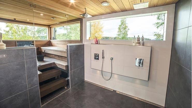 Nanopinnoitettu kylpyhuoneen pesutila